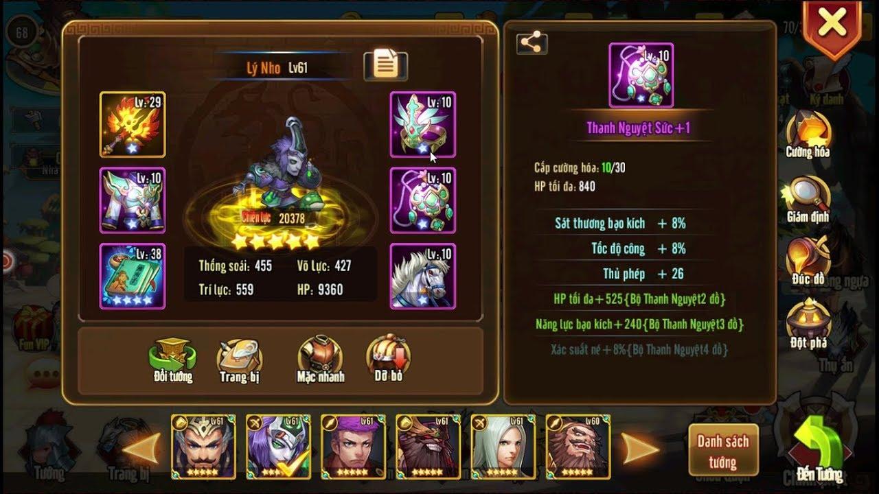 Những lý do khiến Tam Quốc GO giữ vững TOP 1 dòng game Tam Quốc trên mobile 5