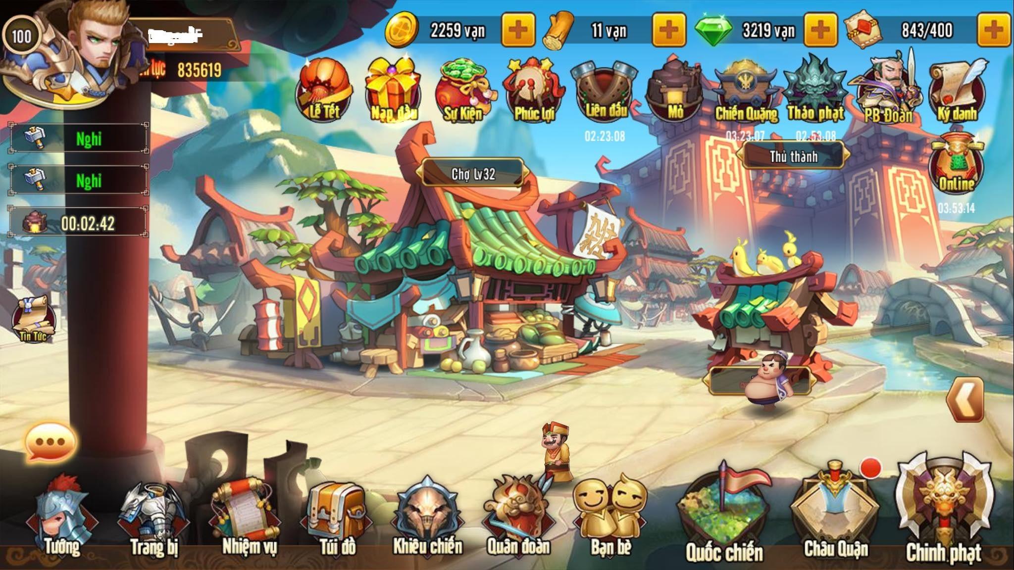 Những lý do khiến Tam Quốc GO giữ vững TOP 1 dòng game Tam Quốc trên mobile 1