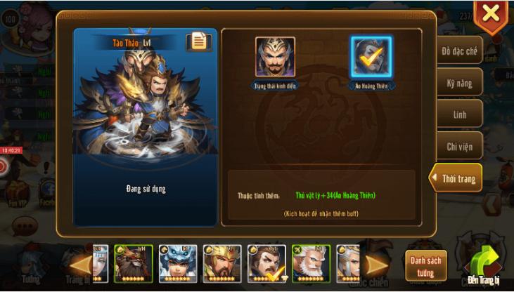 Những lý do khiến Tam Quốc GO giữ vững TOP 1 dòng game Tam Quốc trên mobile 4