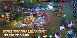 Top 5 game MOBA cho di động đang thu hút đông đảo giới game thủ Việt
