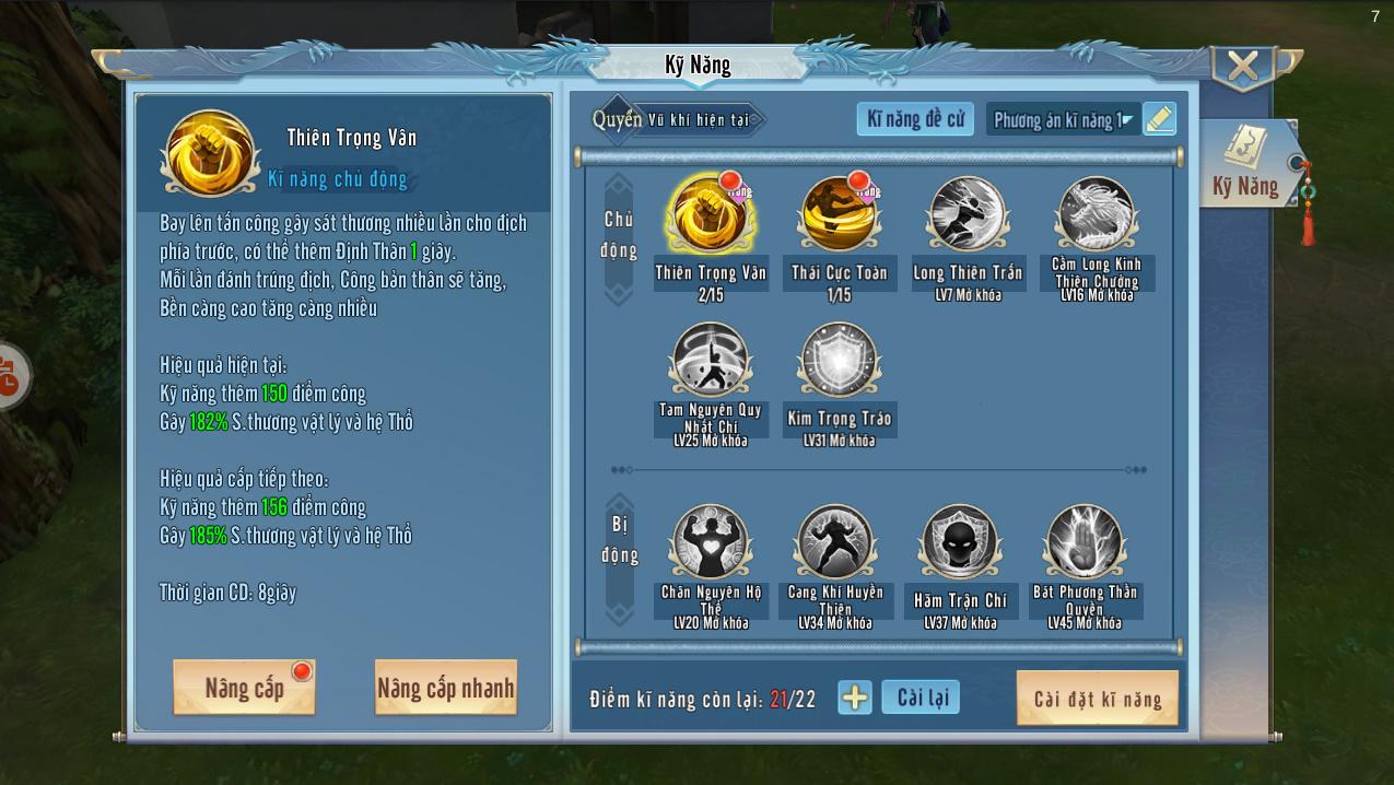 Tình Kiếm 3D Mobile là game kiếm hiệp vô phái, cho người chơi tự do chuyển đổi vũ khí chiến đấu 5