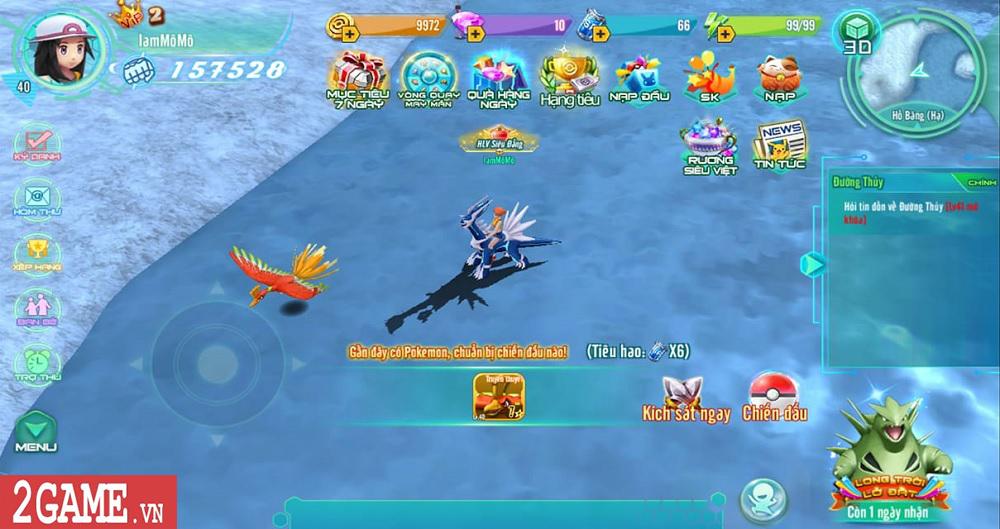 Làng Quái Thú Mobile tái hiện một thế giới Pokemon chân thực đúng như mong đợi của người chơi 0