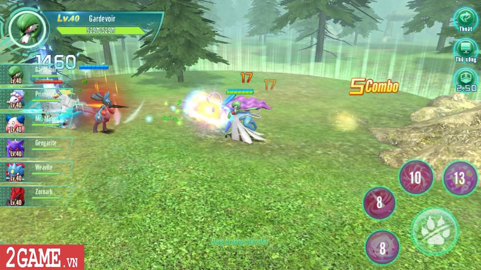 Làng Quái Thú Mobile tái hiện một thế giới Pokemon chân thực đúng như mong đợi của người chơi 2