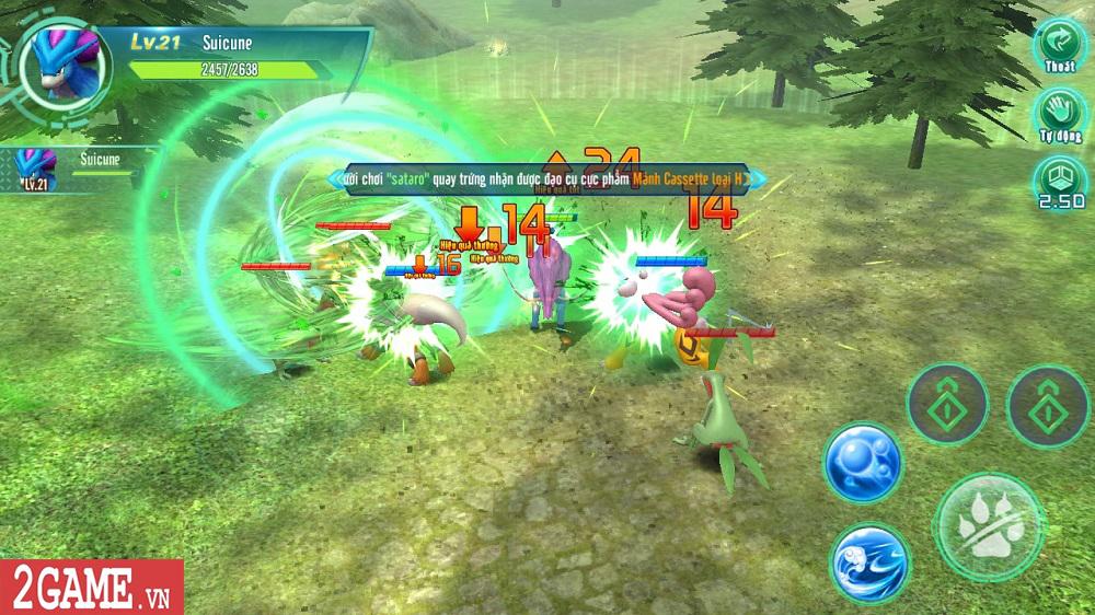 Làng Quái Thú Mobile tái hiện một thế giới Pokemon chân thực đúng như mong đợi của người chơi 3