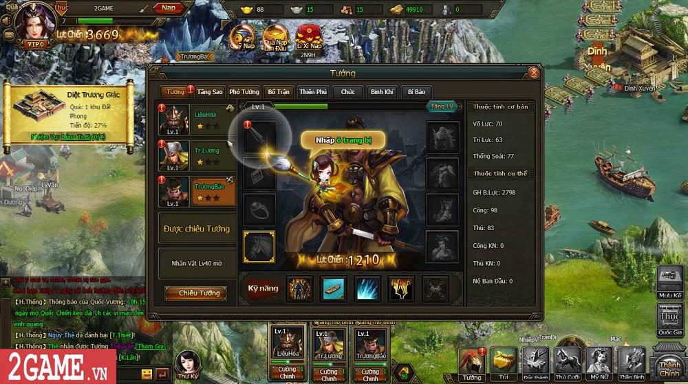 Sự xuất hiện của Loạn Tam Quốc giúp game thủ có webgame chiến thuật hay ho để chơi 10