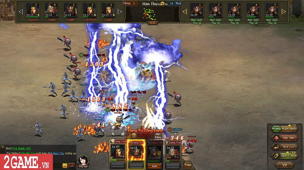 Sự xuất hiện của Loạn Tam Quốc giúp game thủ có webgame chiến thuật hay ho để chơi 9