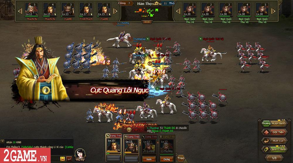 Sự xuất hiện của Loạn Tam Quốc giúp game thủ có webgame chiến thuật hay ho để chơi 12