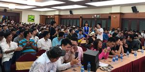 Bất chấp mưa bão, 500 anh em Nhất Kiếm Giang Hồ tề tựu trong buổi offline tại TP. Hồ Chí Minh