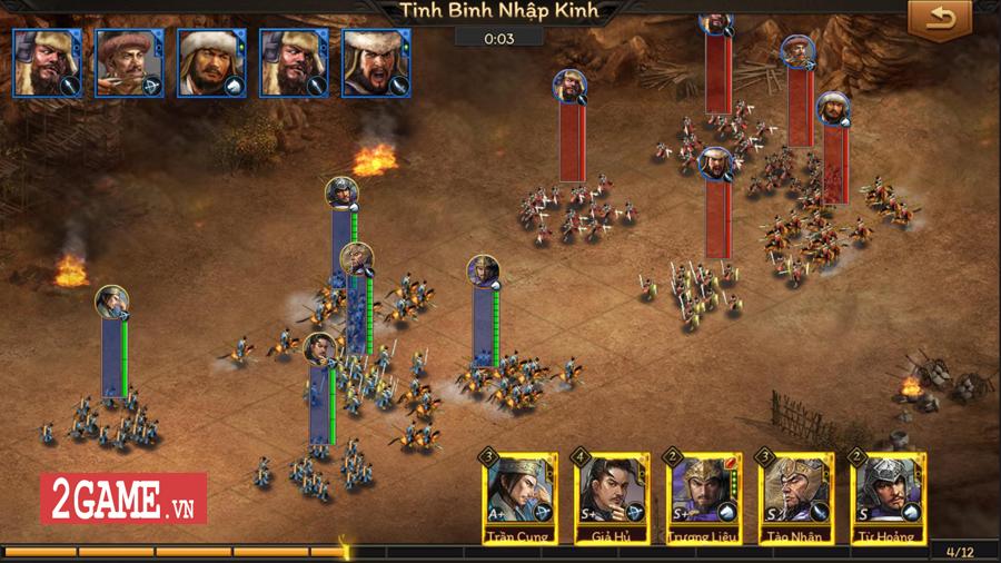 Game mobile chiến thuật dụng binh Cửu Châu Tam Quốc Chí về Việt Nam 3
