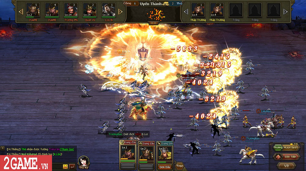Sự xuất hiện của Loạn Tam Quốc giúp game thủ có webgame chiến thuật hay ho để chơi 6