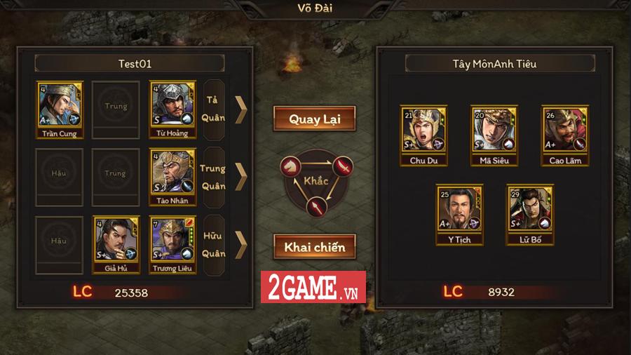 Game mobile chiến thuật dụng binh Cửu Châu Tam Quốc Chí về Việt Nam 2