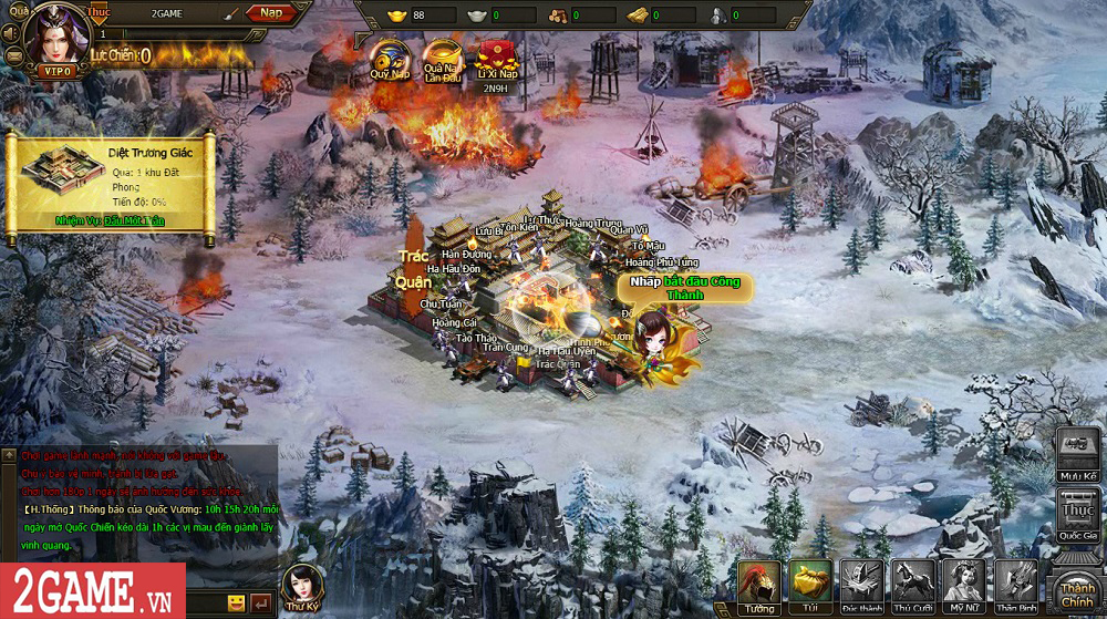 Sự xuất hiện của Loạn Tam Quốc giúp game thủ có webgame chiến thuật hay ho để chơi 0