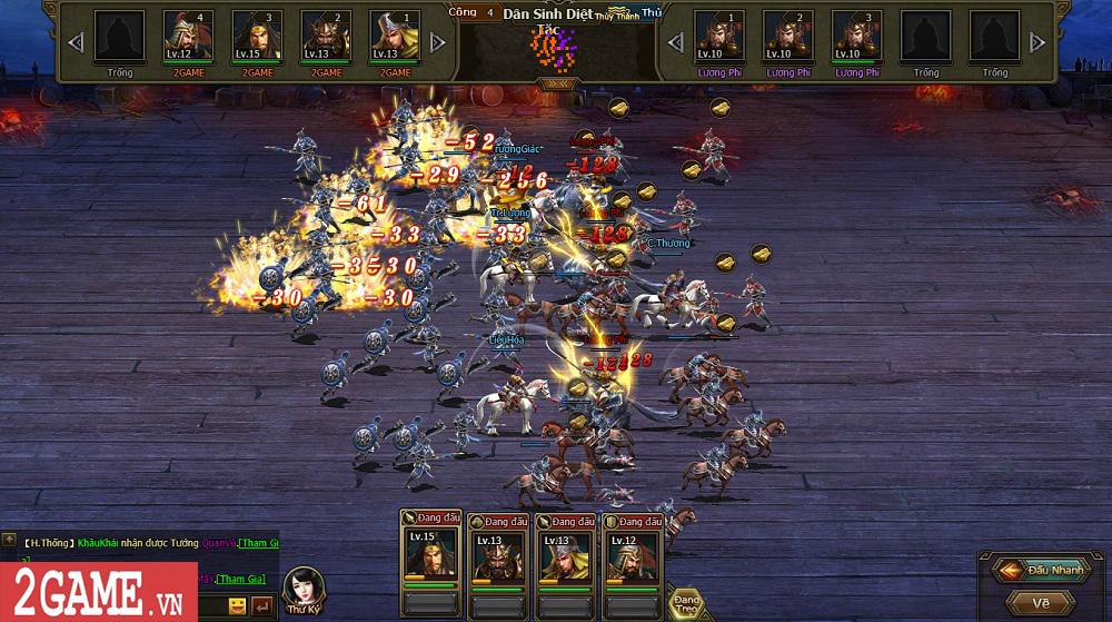 Sự xuất hiện của Loạn Tam Quốc giúp game thủ có webgame chiến thuật hay ho để chơi 15