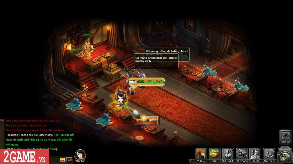 Sự xuất hiện của Loạn Tam Quốc giúp game thủ có webgame chiến thuật hay ho để chơi 5