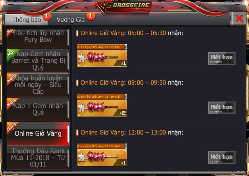 CrossFire Legends chào đón tháng 12 với giá vũ khí VIP cực ưu đãi 5