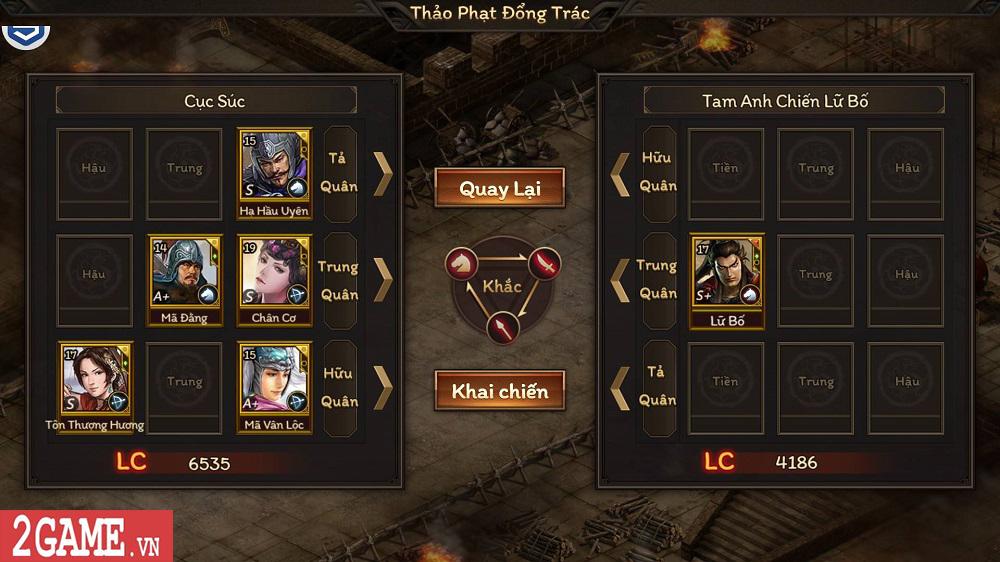 Trải nghiệm Cửu Châu Tam Quốc Chí: Game thẻ tướng truyền thống với những trận đấu đậm tính chiến thuật 7