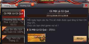 CrossFire Legends chào đón tháng 12 với giá vũ khí VIP cực ưu đãi