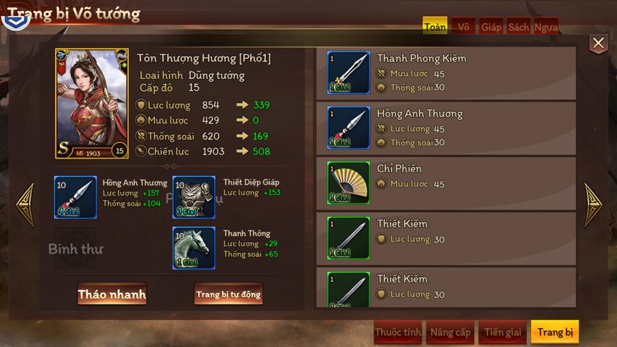 Trải nghiệm Cửu Châu Tam Quốc Chí: Game thẻ tướng truyền thống với những trận đấu đậm tính chiến thuật 2