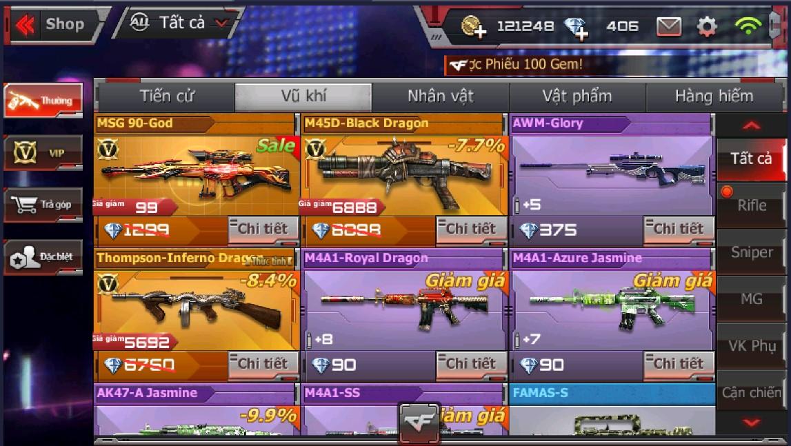 Crossfire Legends tung ra shop giảm giá lên đến 90% vào ngày BlackFriday 4