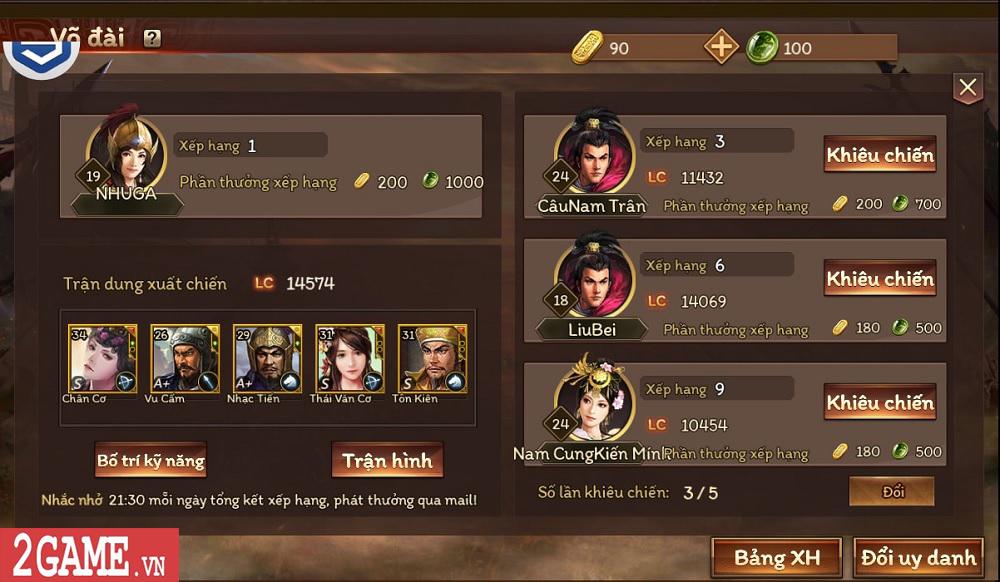 Trải nghiệm Cửu Châu Tam Quốc Chí: Game thẻ tướng truyền thống với những trận đấu đậm tính chiến thuật 4