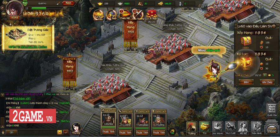 Tặng 333 giftcode webgame Loạn Tam Quốc 1