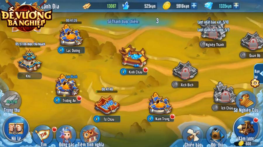Đế Vương Bá Nghiệp Mobile - Game chiến thuật thả lính chính thức Open Beta ngay hôm nay 6