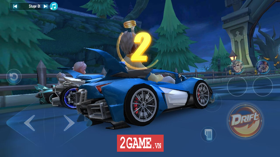 Cận cảnh tính năng đua tốc độ đầy kịch tính trong ZingSpeed Mobile 5
