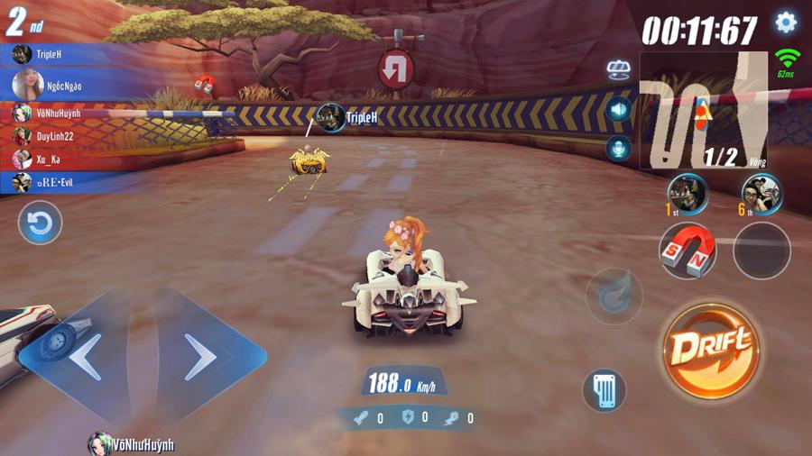 Cận cảnh tính năng đua tốc độ đầy kịch tính trong ZingSpeed Mobile 1