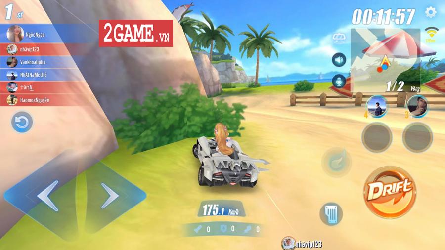 Cận cảnh tính năng đua tốc độ đầy kịch tính trong ZingSpeed Mobile 9
