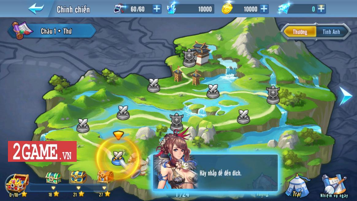 Cảm nhận Đế Vương Bá Nghiệp Mobile: Game chiến thuật thả quân càng chơi càng nghiện 1