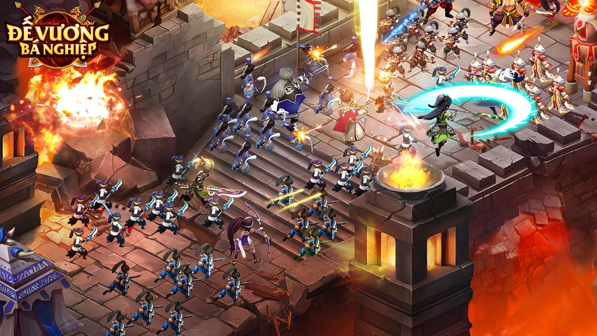 Đế Vương Bá Nghiệp Mobile - Game chiến thuật thả lính chính thức Open Beta ngay hôm nay 0