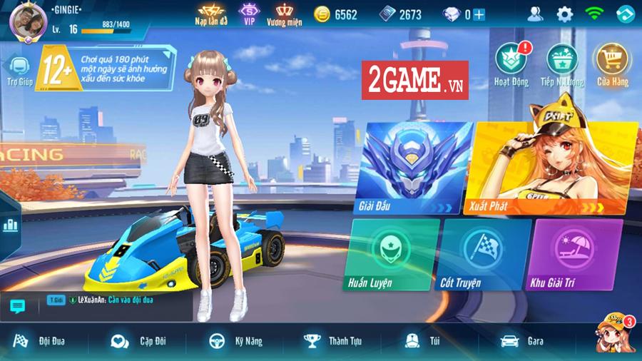 Cận cảnh tính năng đua tốc độ đầy kịch tính trong ZingSpeed Mobile 0