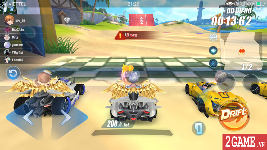 Cận cảnh tính năng đua tốc độ đầy kịch tính trong ZingSpeed Mobile 7