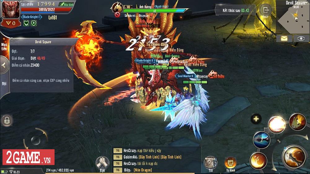 Dù không phải là VIP thì game thủ MU Awaken VNG vẫn sống tốt 5