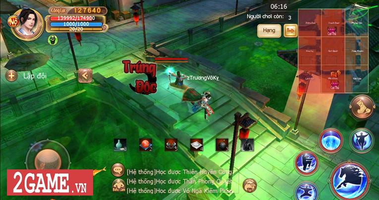 Cửu Âm VNG cũng đưa ra thử thách sinh tồn đậm chất kiếm hiệp cho các tay chơi trong phiên bản mới 3