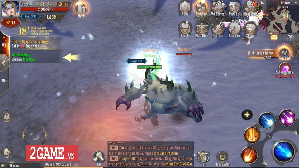 Dù không phải là VIP thì game thủ MU Awaken VNG vẫn sống tốt 4