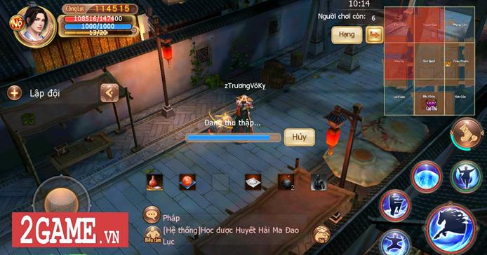 Cửu Âm VNG cũng đưa ra thử thách sinh tồn đậm chất kiếm hiệp cho các tay chơi trong phiên bản mới 2