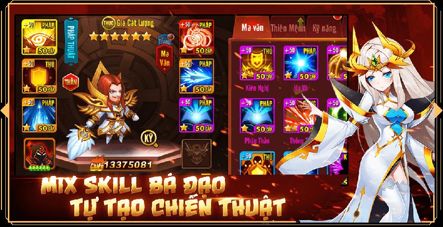 Game đấu thẻ tướng Siêu Thần Mobile công bố ngày ra mắt 0