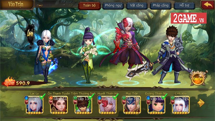 Đại Chúa Tể Mobile cho người chơi tu tiên theo kiểu mới lạ lần đầu xuất hiện tại Việt Nam 4