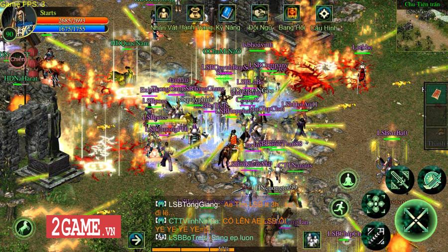 Dự án game Võ Lâm Việt Mobile sẽ áp dụng hình thức thu phí giờ chơi 3