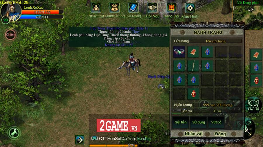 Dự án game Võ Lâm Việt Mobile sẽ áp dụng hình thức thu phí giờ chơi 1