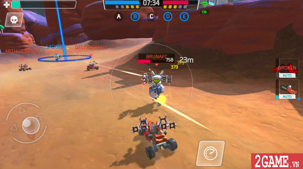 Turbo Squad cho người chơi tự sáng tạo nên phương tiện chiến đấu của riêng mình 9