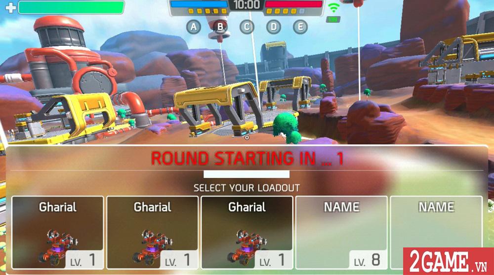 Turbo Squad cho người chơi tự sáng tạo nên phương tiện chiến đấu của riêng mình 2