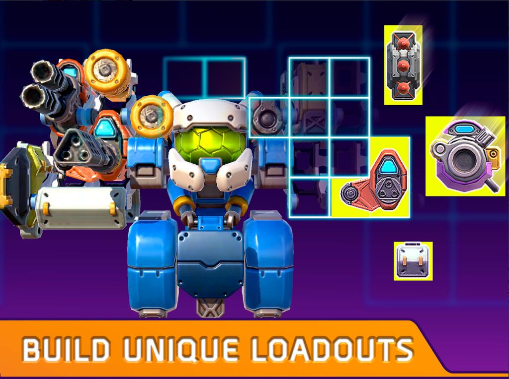 Turbo Squad cho người chơi tự sáng tạo nên phương tiện chiến đấu của riêng mình 4