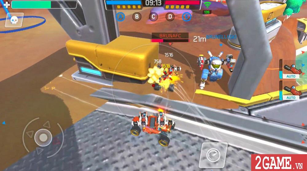 Turbo Squad cho người chơi tự sáng tạo nên phương tiện chiến đấu của riêng mình 1
