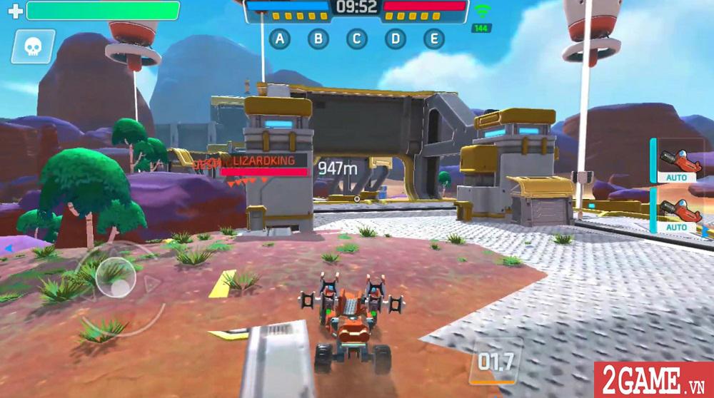 Turbo Squad cho người chơi tự sáng tạo nên phương tiện chiến đấu của riêng mình 3
