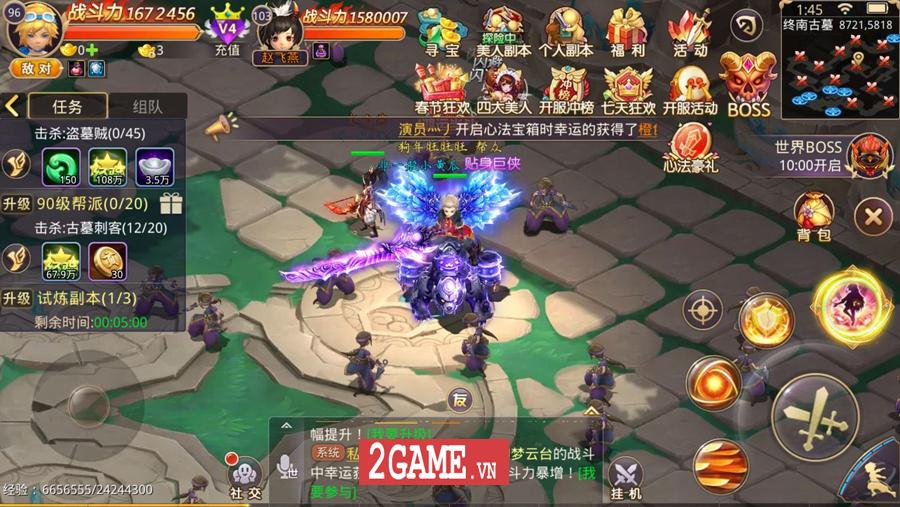 Đại Kiếm Vương Mobile trở lại làng game Việt với phiên bản di động chính chủ 6