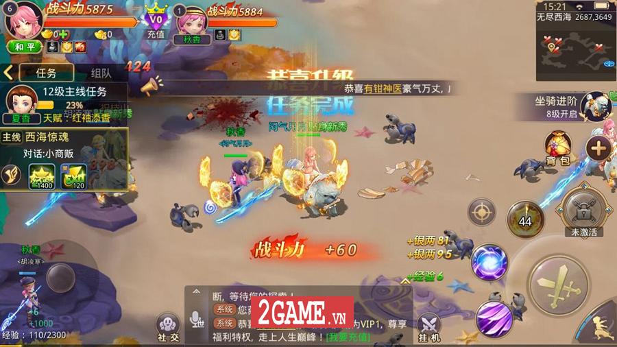 Đại Kiếm Vương Mobile trở lại làng game Việt với phiên bản di động chính chủ 3