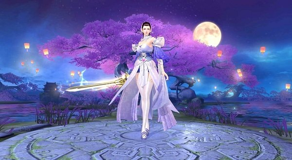 Tình Kiếm 3D Mobile là game kiếm hiệp vô phái, cho người chơi tự do chuyển đổi vũ khí chiến đấu 1