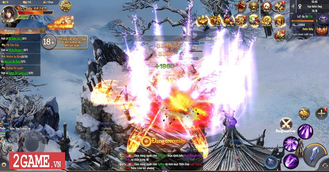 Trải nghiệm Phong Vân H5: Lối chơi nhập vai cày cuốc quen thuộc trên nền đồ họa ấn tượng 9